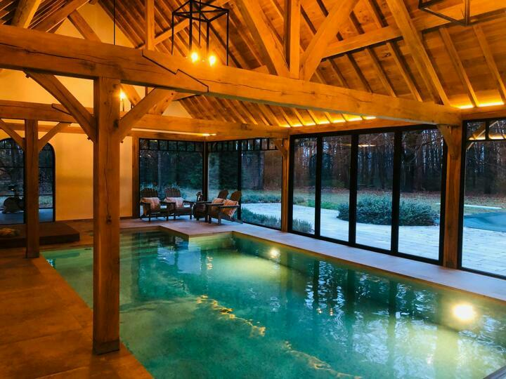 Wil je 365 dagen lang genieten van jouw zwembad? Dan zoek je een binnenzwembad bij jou thuis, natuur
