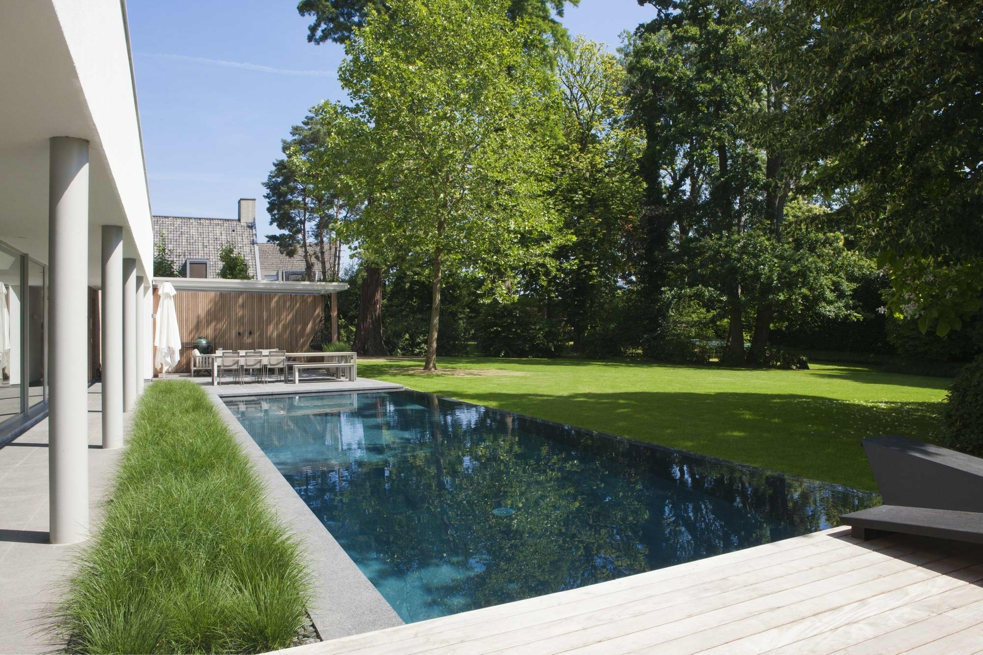 Overloop zwembad in Oudenaarde