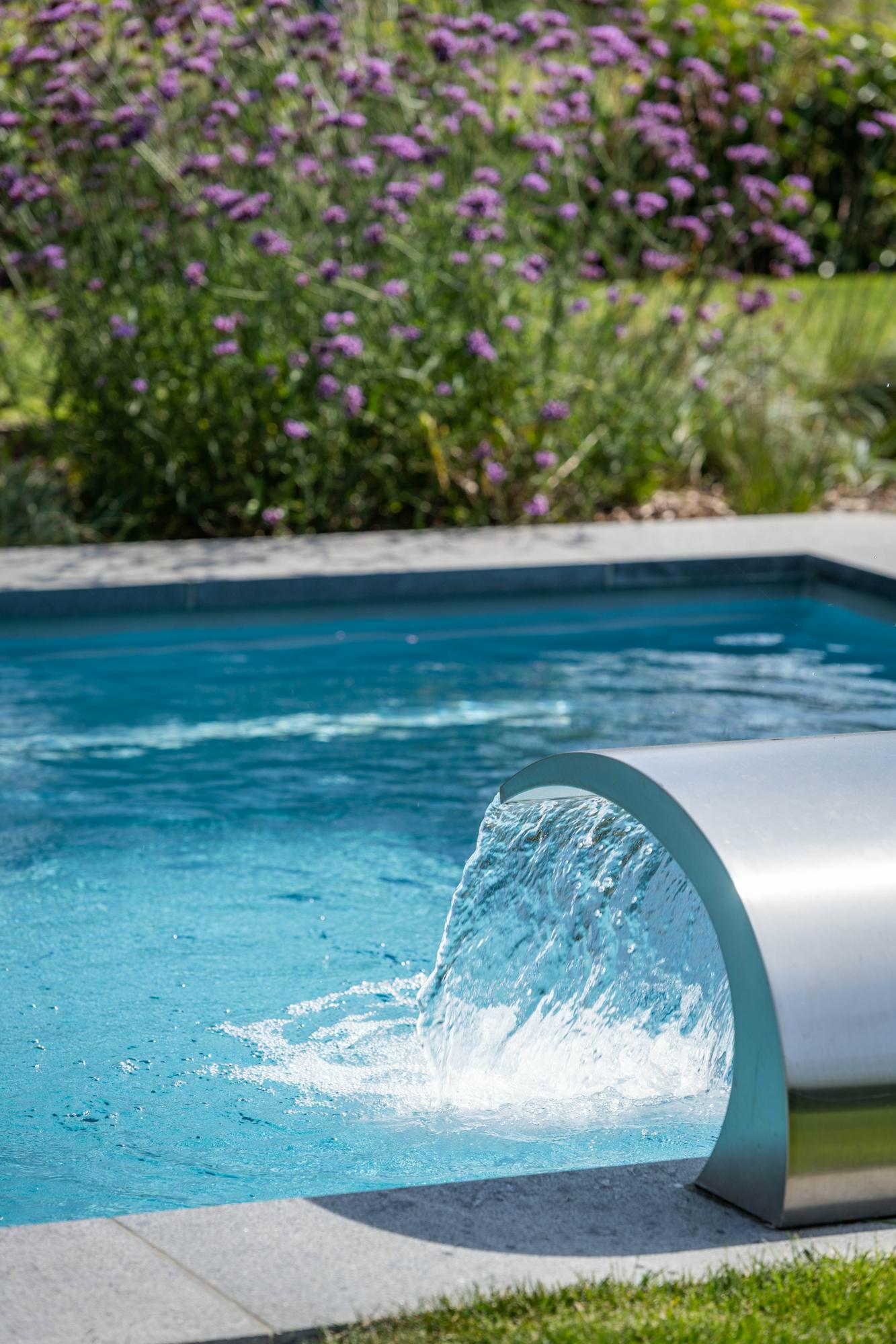 Monoblok zwembad in Kruisem