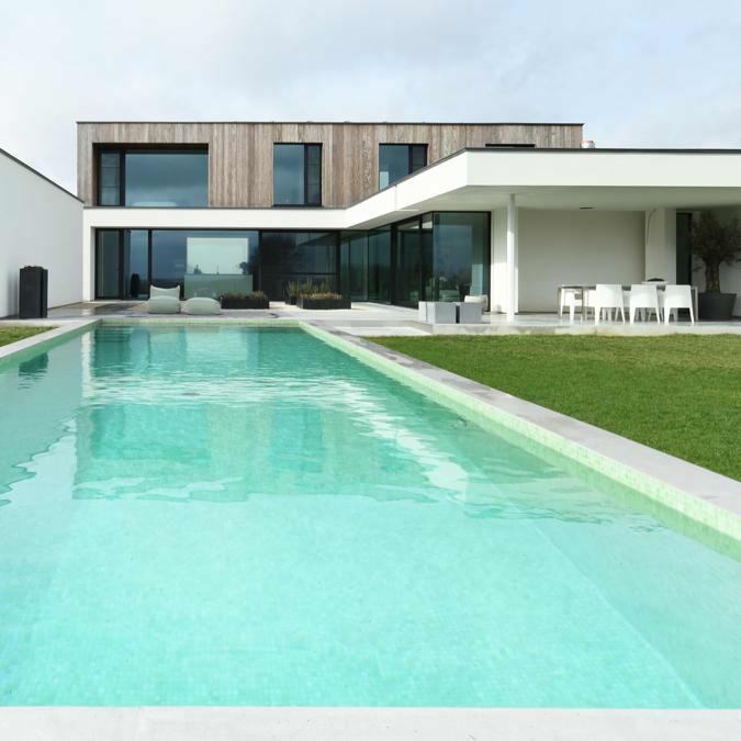 Architect: Tom Mahieu |Foto's: The Art of livingTotaalconcept - zwembad / tuin